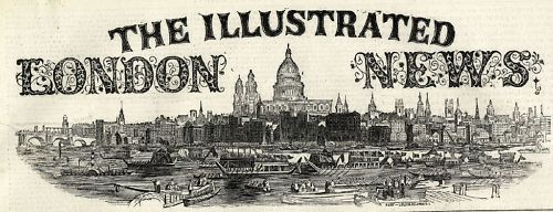 1859 ILLUSTRATED LONDON NEWS Bluecoat Boys ANGIOLINA BOSIO Turin VICTORIAN NEWSPAPER (2790)