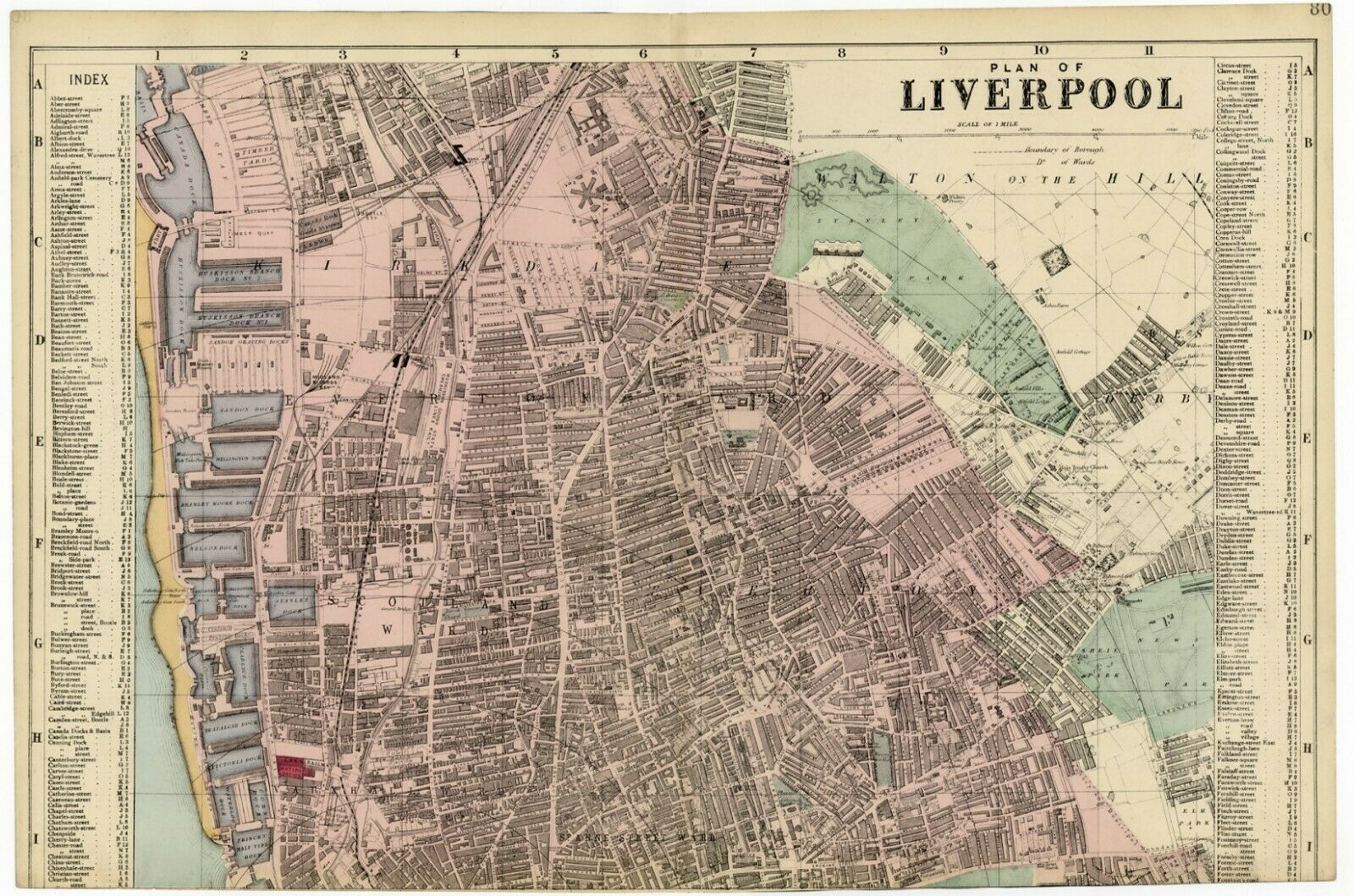1883 Antique Map Large STREET PLAN LIVERPOOL Nth EVERTON ... on marylebone map, liverpool england central map, borough map, paddington station map, russell square map, bangkok airport map, leadenhall market map, covent garden map, grosvenor square map, camden town map, east india map, west end map, tower hill map,
