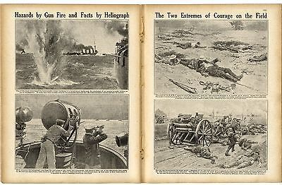 1916 WW1 Magazine PERCY HURD DOUGLAS Guillemont FLERS Canadians NZ Somme (2110)