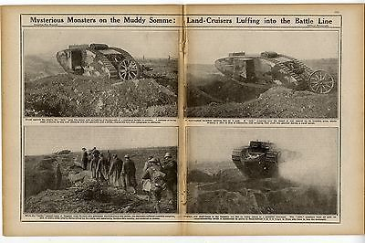 1916 WW1 Magazine SOMME Regina Trench SCHWABEN REDOUBT Keith Lucas RFC War (1210)