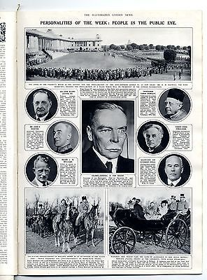 1937 ILLUSTRATED LONDON NEWS 2Jan Ruth Harkness PANDA Bocksten BERTRAM MILLS (12