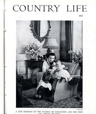 1942 COUNTRY LIFE Magazine VITA SACKVILLE-WEST Sissinghurst Castle WITNEY (0832)
