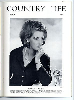 1966 COUNTRY LIFE Magazine BELINDA DENHOLM Swiss Cottage Tipperary (9263
