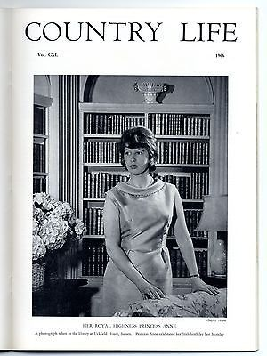 1966 COUNTRY LIFE Magazine LOCH LINNHE Princess Anne HADDO HOUSE Hebrides (4263)
