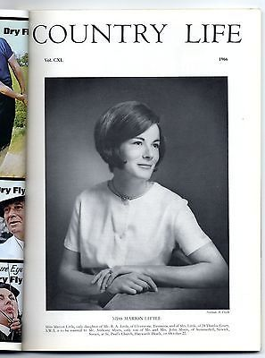 1966 COUNTRY LIFE Magazine MARION LITTLE MYERS Ashbury Manor Berks (3363)