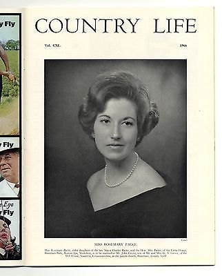 1966 COUNTRY LIFE Magazine ROSEMARY PACKE GROVE Kentchurch Court (2463)