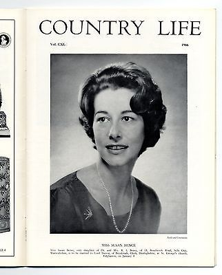 1966 COUNTRY LIFE Magazine SUSAN BENCE TREVOR Weavers Horsmonden (3463) SOLD