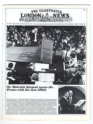 1966 ILLUSTRATED LONDON NEWS 30 Jul HARDWICK HALL DERBYS Kidbrooke School (Corelli) London (6266)