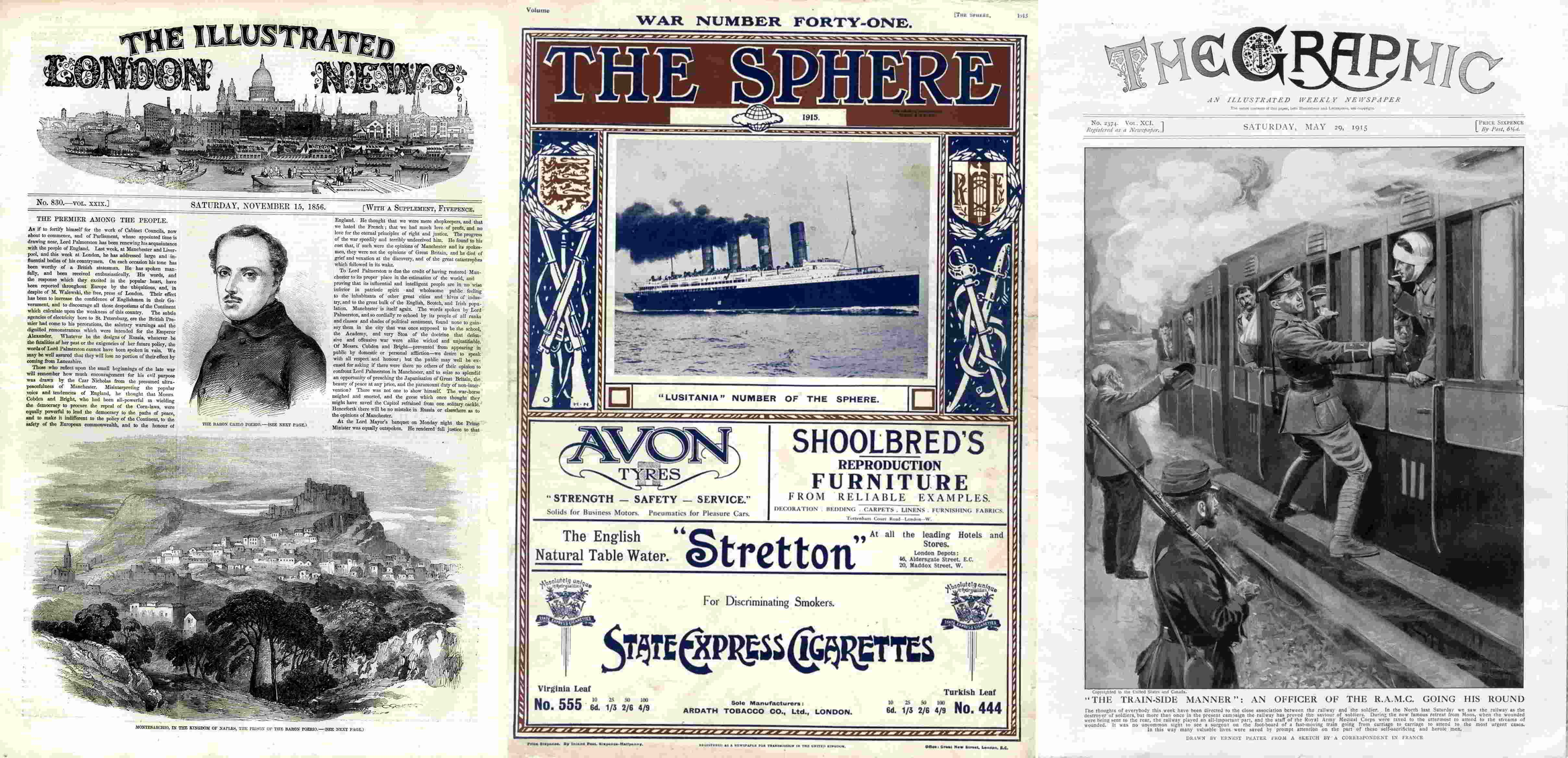 magazine and newspapers promo